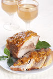 Roasted Pork Stock Photography