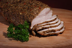 Roasted pork Royalty Free Stock Photos