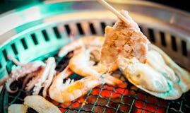 Roasted pork korea food Stock Image