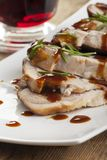 Roasted pork dish Stock Images