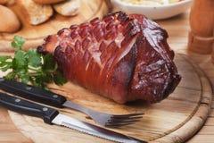 Roasted pork knuckle Stock Photography