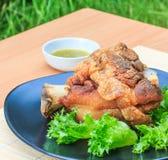 Roasted pork knuckle Stock Images