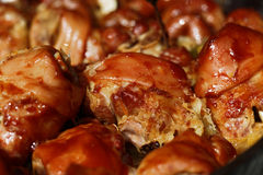 Roasted pork knuckles Royalty Free Stock Image