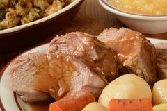 Roasted pork loin Royalty Free Stock Photos