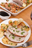 Roasted Pork Loin Stock Images