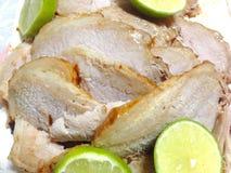 Roasted pork loin Stock Photos
