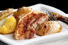 Roasted Pork Meat Stock Photo