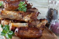 Roasted Pork Meat Stock Image