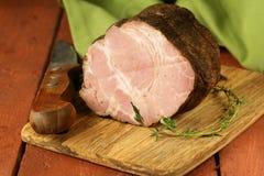 Roasted pork neck with black pepper Stock Images