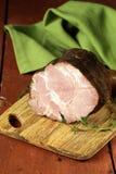 Roasted pork neck with black pepper Stock Photos