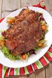 Roasted pork neck Royalty Free Stock Image