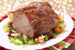 Roasted pork neck Royalty Free Stock Photos