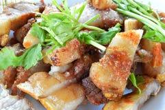 Roasted pork. Pork Roast with Roasted Vegetables Royalty Free Stock Images