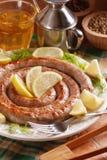 Roasted pork sausage Stock Images