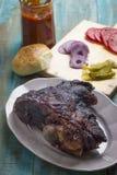 Roasted Pork Shoulder Stock Photos
