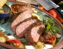Roasted Pork Sirloin Royalty Free Stock Photo