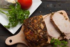 Roasted pork Royalty Free Stock Photo