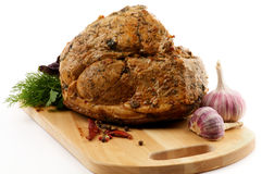 Roasted Pork Tenderloin Royalty Free Stock Photo