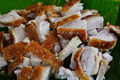 Roasted pork tenderloin. Close up of a roasted pork tenderloin Stock Images