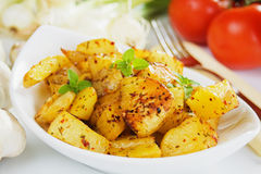 Roasted potato Royalty Free Stock Photo
