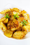 Roasted potato Stock Images