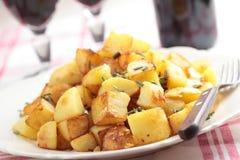 Roasted potato Stock Images