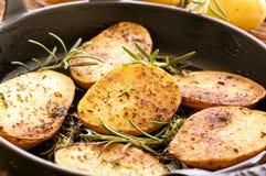 Roasted potato Stock Photo