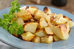 Roasted potato and celery Stock Image