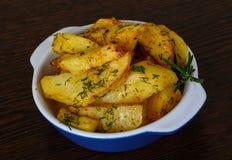 Roasted potato Royalty Free Stock Photography
