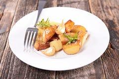 Roasted potato Royalty Free Stock Image