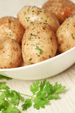 Roasted Potatoes Royalty Free Stock Photos