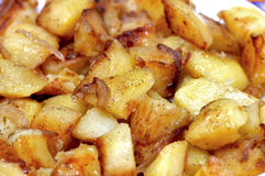 Roasted potatoes Royalty Free Stock Photography