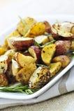 Roasted potatoes Stock Photography