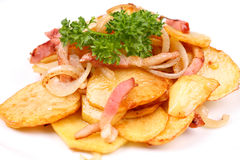 Roasted Potatoes Royalty Free Stock Photos