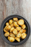 Roasted Potatoes with Rosemary Stock Image