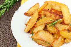 Roasted potatoes Royalty Free Stock Photo