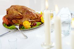 Roasted poultry Stock Image