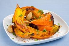 Roasted pumpkin Royalty Free Stock Photos