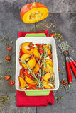 Roasted Pumpkin Stock Images