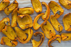 Roasted pumpkin close-up Royalty Free Stock Images