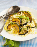 Roasted pumpkin and couscous salad Royalty Free Stock Photos
