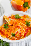 Roasted Pumpkin Ravioli Stock Photos