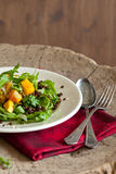 Roasted pumpkin salad Royalty Free Stock Photo