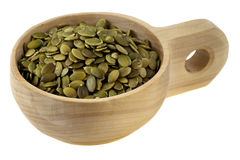 Roasted pumpkin seeds Stock Photos