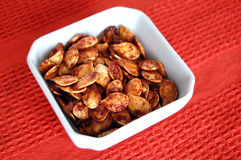 Roasted Pumpkin Seeds Royalty Free Stock Image