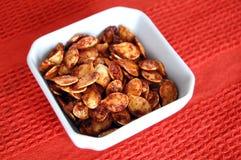 Roasted Pumpkin Seeds Royalty Free Stock Image