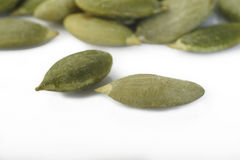 Roasted pumpkin seeds Royalty Free Stock Images