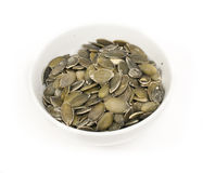 Roasted pumpkin shelled seeds Royalty Free Stock Photos