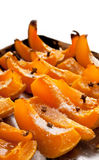 Roasted pumpkin with spice Stock Photos