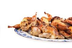 Roasted quails Royalty Free Stock Image